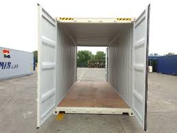 new 20 foot high cube shipping containers double door for sale