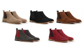 groupon s boots up to 70 on gino pheroni s chelsea boots groupon goods