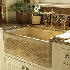 Farm Sink With Backsplash by Farmhouse Sinks With Vintage Charm Southern Living