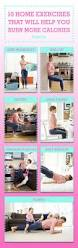 Desk Exercises To Burn Calories 10 Simple Exercises To Do At Home Home Workout