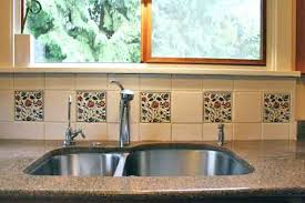 how to do a kitchen backsplash tile kitchen backsplash tile colorful trees peacocks birds and flowers