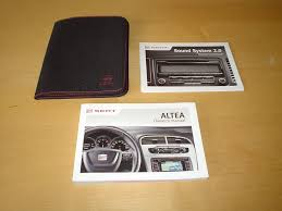 100 owners manual seat altea xl 2011 seat altea xl cr tdi