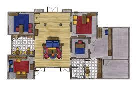 rendering for the interior on scad portfolios