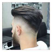 shag haircut for men as well as drop fade haircut with v neckline