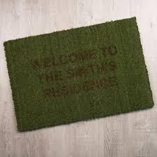 personalised doormat gettingpersonal co uk
