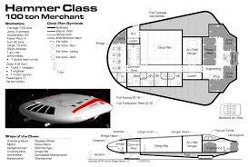 yet another traveller blog deck plan hammer class 100 ton merchant