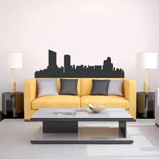 grand rapids michigan skyline vinyl wall decal sticker