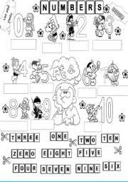 english worksheets the numbers worksheets page 31