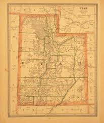 Maps Of Utah by Old Maps Of Utah New York Map