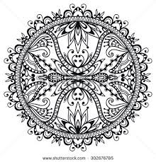 black white bandana print silk neck stock vector 320609492