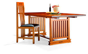 solid wood dining table by berkeley mills furniture