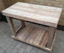 Simple Wood Bench Instructions by Pallet Workbench 7 Steps With Pictures