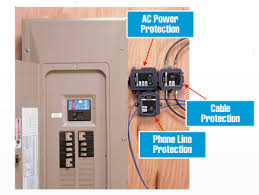 how to install a panel mount surge protector shedheads