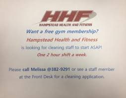 gyms hiring front desk near me we re hiring hstead health fitness