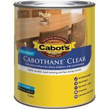 Water Based Interior Paint Cabot U0027s 1l Cabothane Gloss Water Based Polyurethane Bunnings