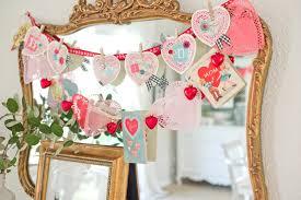 valentines day home decorations fashionista vintage handmade inspired valentine day decorations