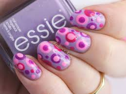 2 nail art tutorials easy nail art for beginners pink and ruby