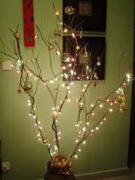 christmas decoration u2013 unconventional twig tree colourful