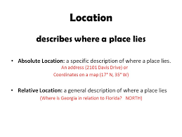 the five themes of geography worksheet worksheets