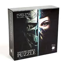 Dishonored Halloween Costume Dishonored 2 Shadows Emerge 750pc Puzzle Thinkgeek