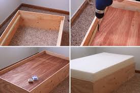 How To Make A Box Bed Frame Build Two Toddler Beds For 75 Design