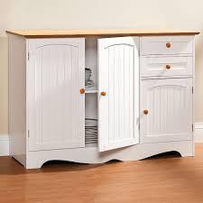 Modern Storage Cabinet Zamp Co Catskill White All Purpose Kitchen Storage Cabinet With Double