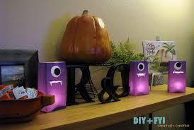 halloween luminaries diy purple people eater luminaries diy fyi creatively created
