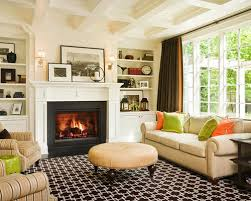 Orange Curtains For Living Room Brown And Orange Curtains Houzz