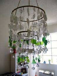 new sea glass chandelier 58 in home decor ideas with sea glass