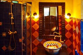 blue and yellow bathroom ideas 44 top talavera tile design ideas