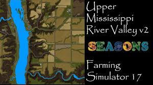 Mississippi River United States Map by Farming Simulator 17 First Impressions Upper Mississippi River