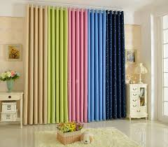 Navy Window Curtains Summer Stylefashion Window Curtains Solid Finished Products