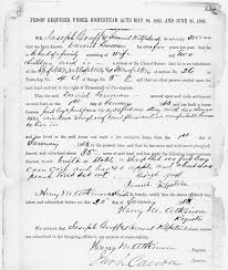 Sle Letter Of Certification Of Employment Request The Homestead Act Of 1862 National Archives
