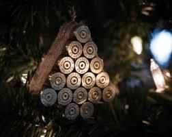 bullet christmas ornament 223 handmade ornament gun lover