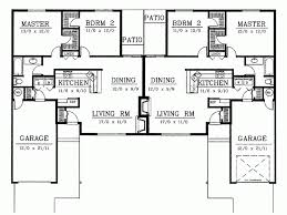ranch duplex floor plans eplans ranch house plan eye catching ranch duplex 3536 square