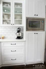 Hide Microwave In Cabinet Drop Zone Kitchen Cabinets Pinterest Drop Zone Drop And