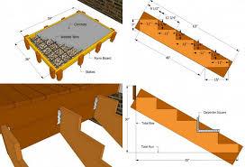 treppe bauanleitung gartentreppe aus holz selber bauen anleitung und beispiele