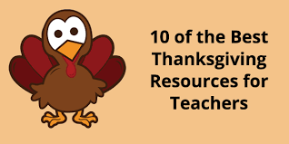 10 of the best thanksgiving resources for teachers quizbean