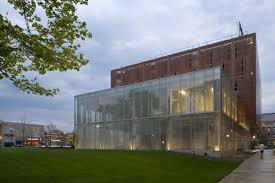 beautiful exterior of chilled water plant at ohio state university