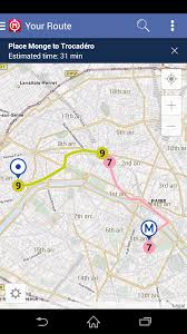 Paris Rer Map Amazon Com Route Plan U2013 Offline Paris Metro Map U0026 Route Planner