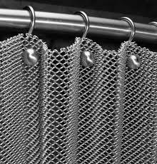 metal curtains cascade coil