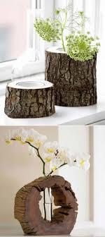 wood log vases wood log decor cbaarch
