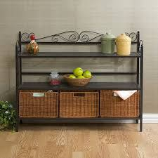 Baker Sideboard Harper Blvd Baker U0027s Rack With 3 Rattan Drawers Free Shipping