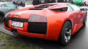 lamborghini murcielago sound lamborghini murcielago v12 sound drag race rolling50