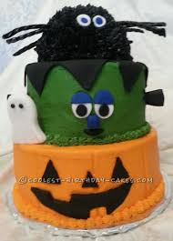 Cool Halloween Cakes by Coolest 3 Tier Halloween Party Cake