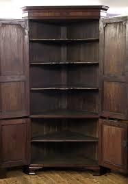 antique corner cupboard georgian corner cupboard antique floor