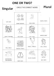 161 free singular plural nouns worksheets
