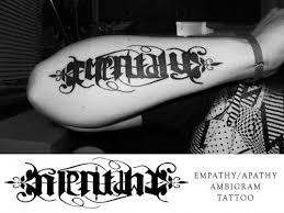 15 best ambigram tattoos tattoo com