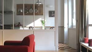 separation verriere cuisine verrières d intérieur en bois