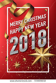 happy new years posters 2018 happy new year vector greeting stock vector 723005032